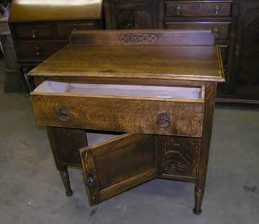 Detail image of antique furniture